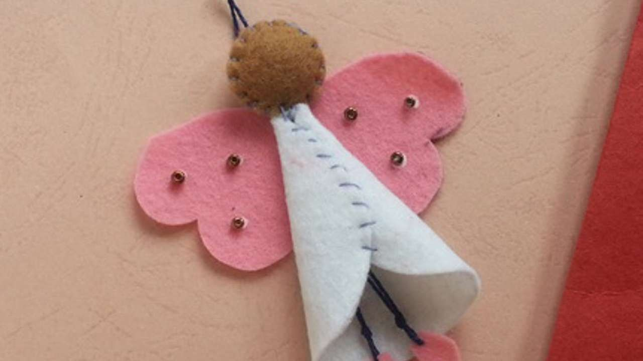 How To Make A Cute Felt Angle Ornament - DIY Crafts Tutorial - Guidecentral