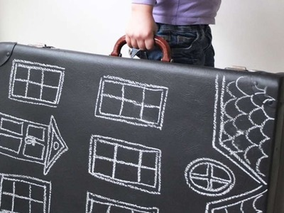How To Make A Dollhouse From An Old Suitcase - DIY Crafts Tutorial - Guidecentral