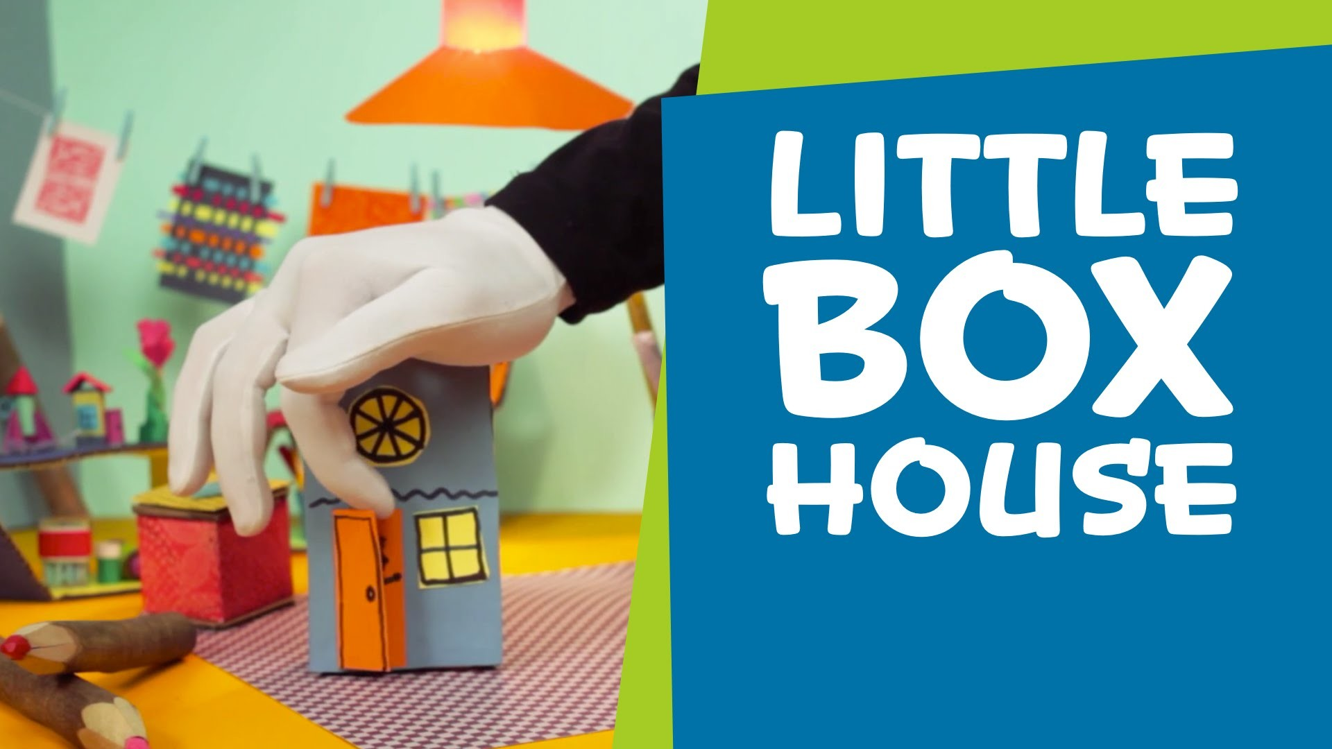 How to Make a Little Cardboard Box House | DIY Crafts for Kids | SuperHands: Ep 02
