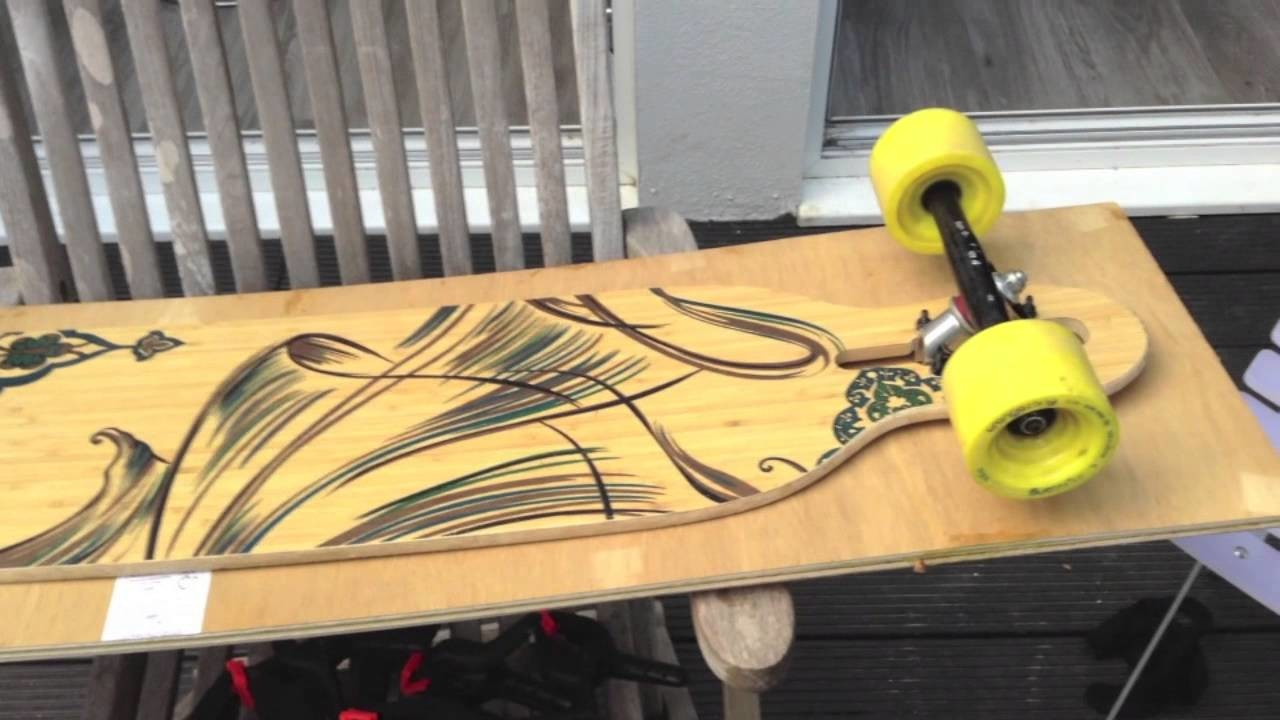 How to make a longboard in 7 simple steps