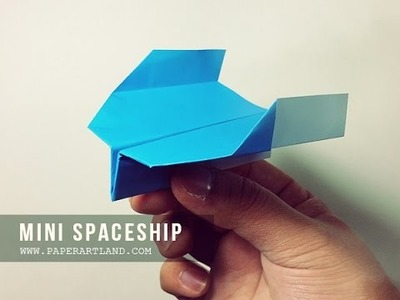 How to Make a Paper Airplane - The Best Paper Planes (Boomerang) | Outer SpaceShip