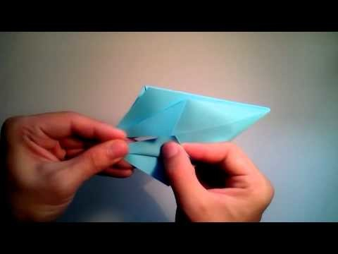 How to make a ship of simple origami star wars X WING