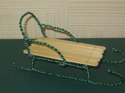 How To Make A Wire Toy Sled - DIY Crafts Tutorial - Guidecentral