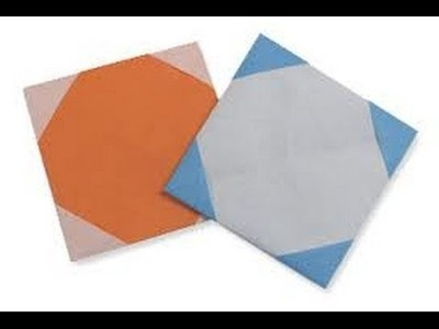How To Make An Origami Coaster