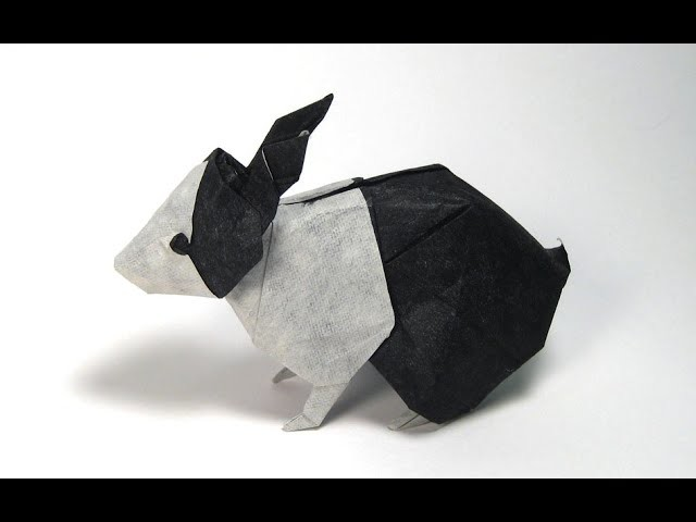 How to make an Origami Dutch Rabbit