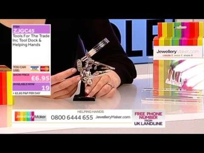 'How to make Boutique-Style Beaded Jewellery': Jewellery Maker Live AM 11.03.2014