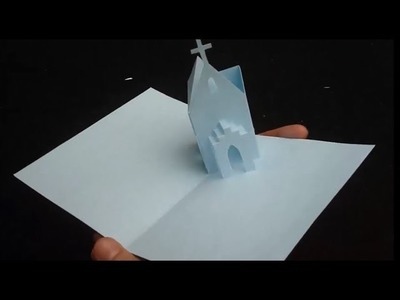 How To Make Church Pop-up Card, Origamic Architecture Tutorial