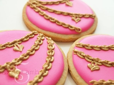 How To Make Royal Icing Jewelry Chains