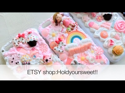 Kawaii phone case decoden DIY phone case-TOTORO xiaomei