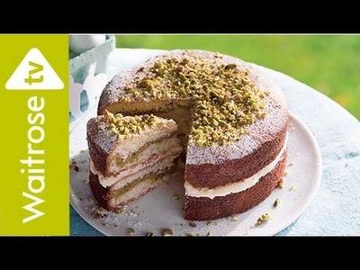 Lemon and Pistachio Cake   Waitrose