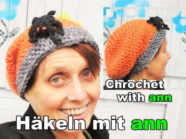 Long Beanie häkeln für  Anfänger  ( German  Tutorial with English subtitle )
