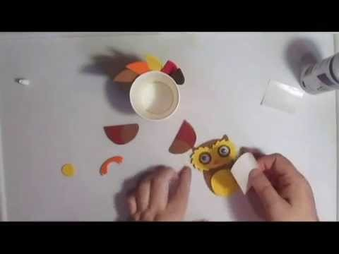 Making The Owl From Michael's Craft Kit