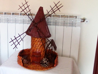 MOLINO DE VIENTO BOTELLERO - WINDMILL, BOTTLE RACK