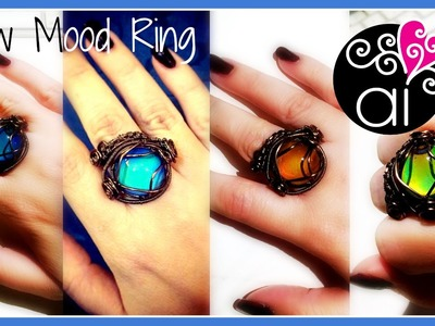 New Mood Ring | Wire Wrapping Tutorial