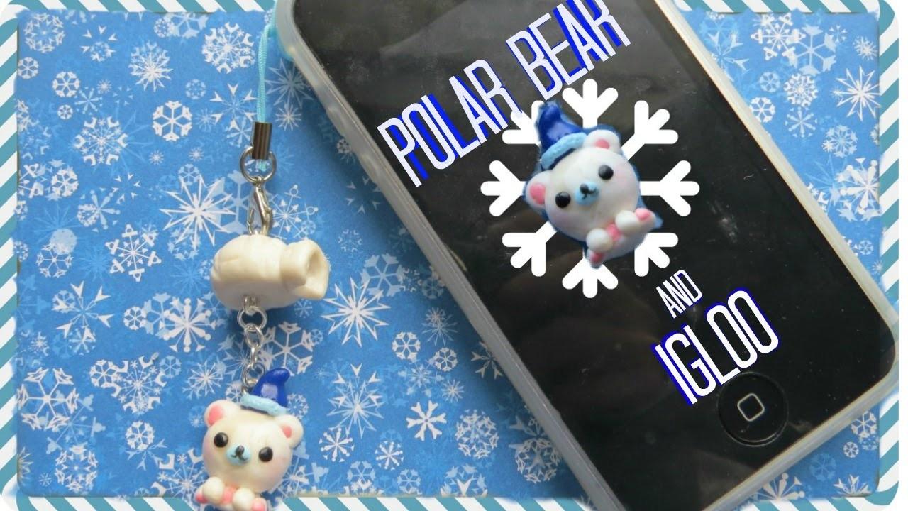 Polar Bear & Igloo Charm | Polymer Clay Tutorial