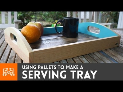 Serving Tray from Pallets . How-To