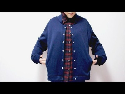 Sewing + DIY Bomber Jacket