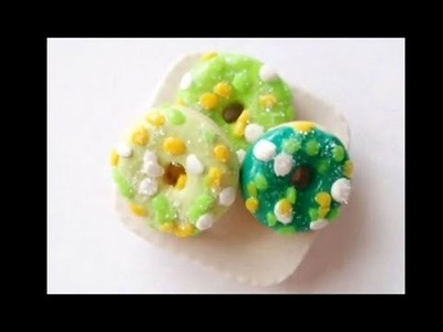 Sparkly Spring Donuts