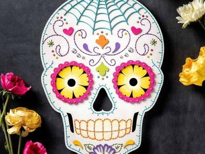 Sugar Skull Craft | DIY Halloween Decor | Apostrophe S | Hey Sugar!