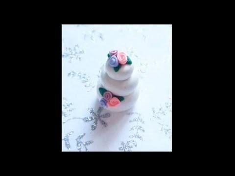 Wedding Cake - Polymer Clay Tutorial
