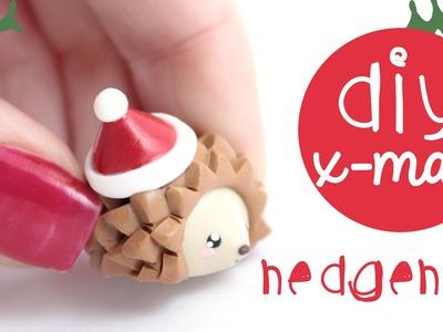 X-mas Hedgehog DIY | Kawaii Friday