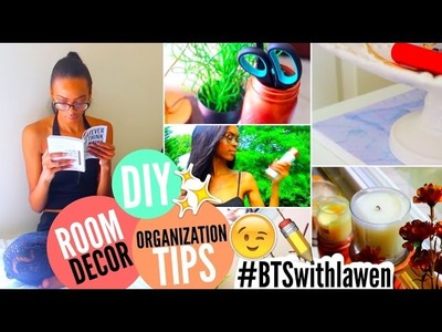Back To School Room Makeover: DIY Room Decor & Organization • Lawenwoss