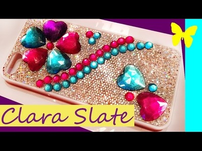 ♥☆ Clara's DOLLAR TREE DIY BLING Phone Case! ♥☆