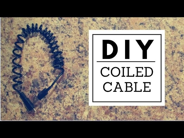 DIY $1 Coiled Cable - Nerd Builds