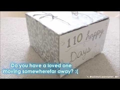 DIY Calendar Gift Idea for Long Distance