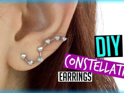 DIY Constellation Earrings   ItzaMeylin