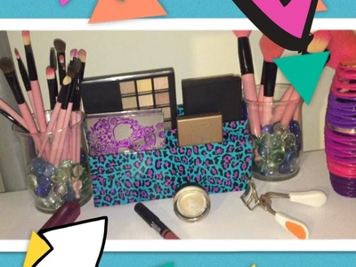 DIY EYESHADOW PALETTE HOLDER!!!! EASY!! -HEYSHEY