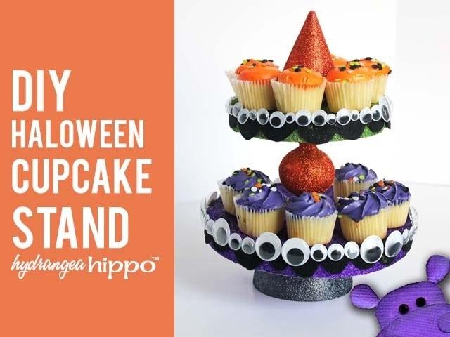 DIY Halloween Cupcake Stand