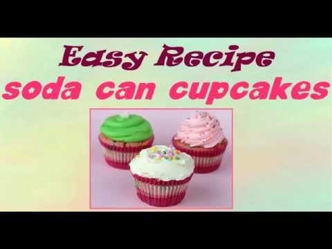 DIY: How To Make Soda Can Cupcake - Easy Cake Recipes