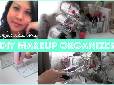 DIY Makeup Organizer - with IMJESSICAOLIVIA