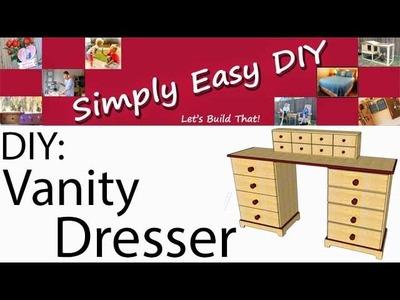 DIY: Vanity Dresser Part 1