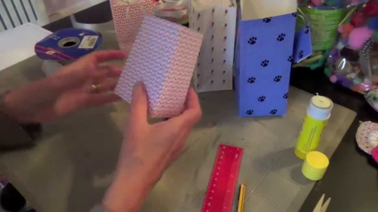 Handmade Gift or Party Bag Tutorial