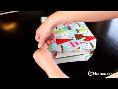 Homes.com DIY Expert: Perfect Gift Wrapping!