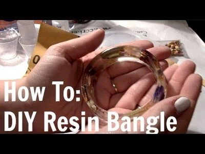 How To: DIY Resin Bangles