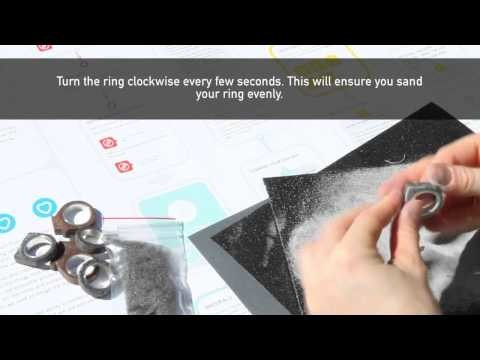 How to Make a DIY Concrete Ring   A Guide Through the Finishing Stage