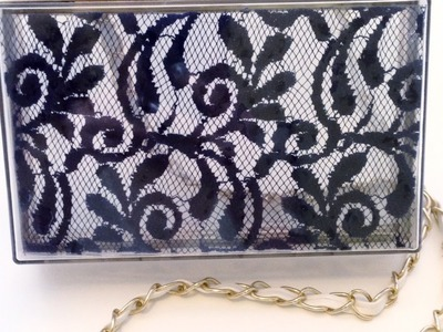 Make a Chic Lace Clutch - DIY Style - Guidecentral