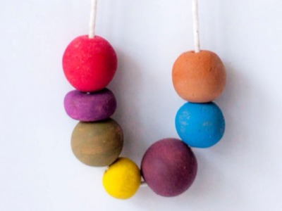Make a Pottery Clay Beaded Necklace - DIY Style - Guidecentral