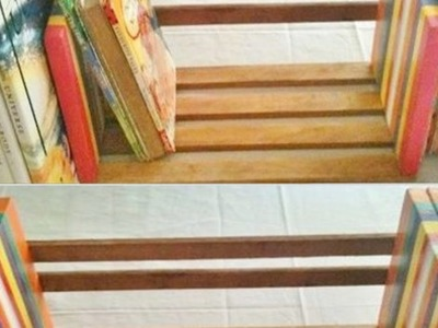 Make an Easy and Adjustable Table Top Book Rack - DIY Home - Guidecentral