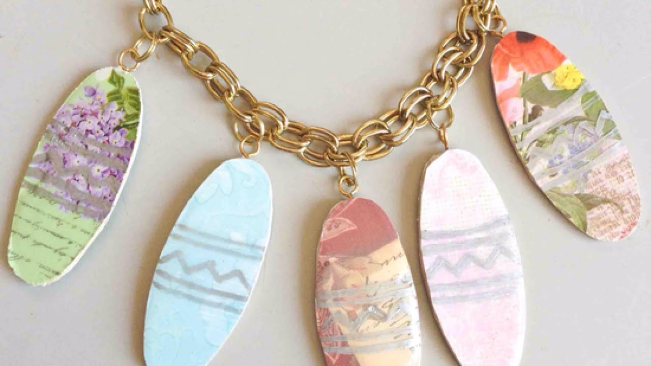 Make an Elegant Easter-Themed Necklace - DIY Style - Guidecentral