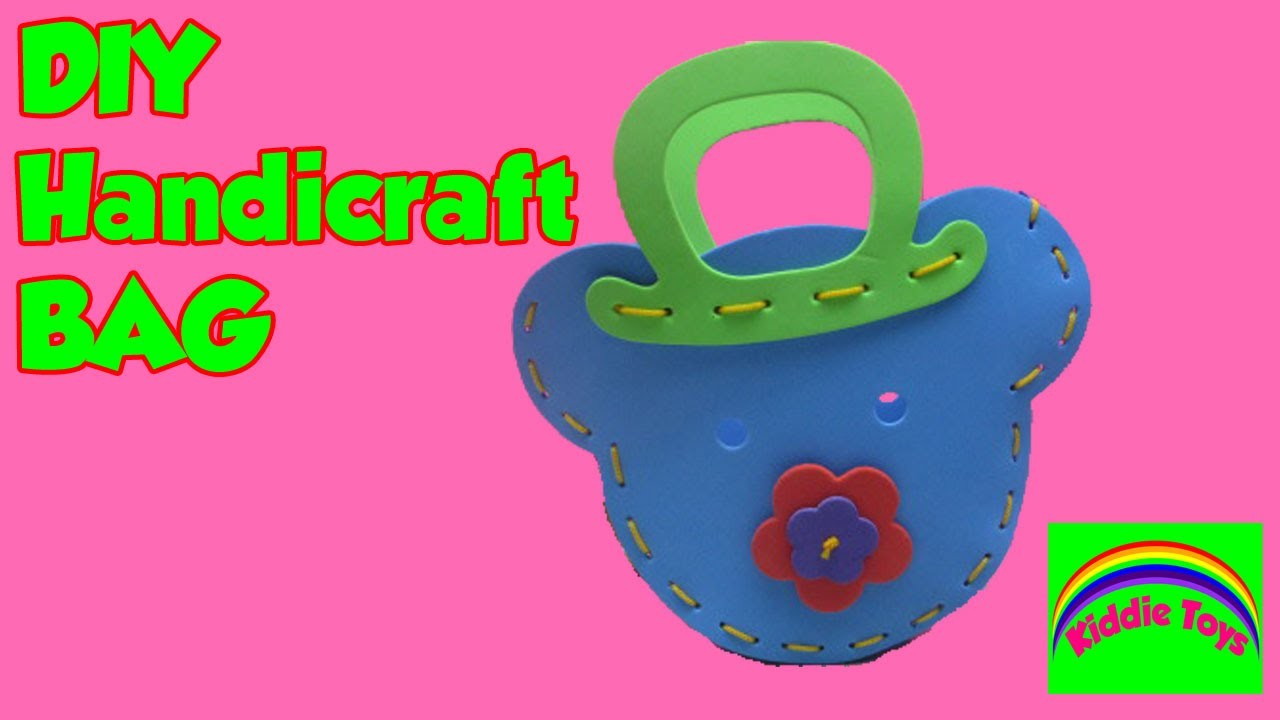 Rubber Handicraft Bag, DIY -  Kiddie Toys