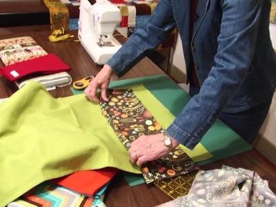 Tutorial #5   Handmade Gifts: Putting a Stripe on a Tea Towel