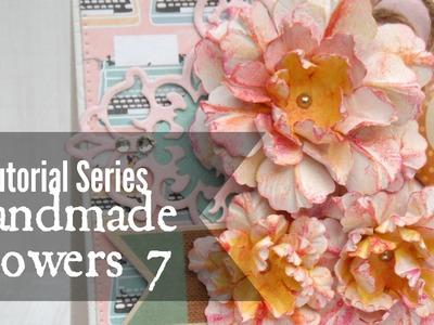 Tutorial Series: Handmade Flowers 7
