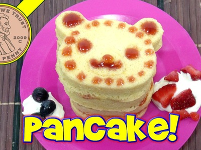 Animal Shaped Panda Pancake Japanese DIY Kit