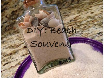 Beach DIY: How to make a beach souvenir