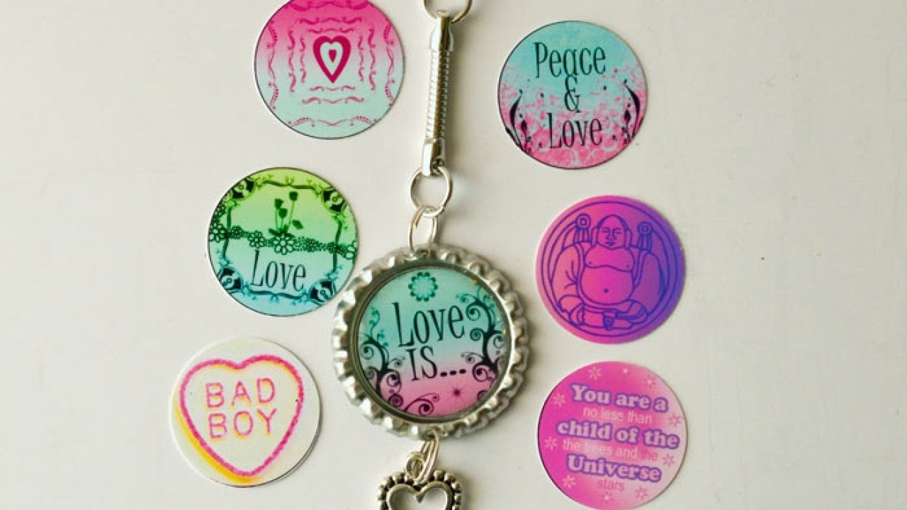 Create a Love Charm Key Chain - DIY Style - Guidecentral