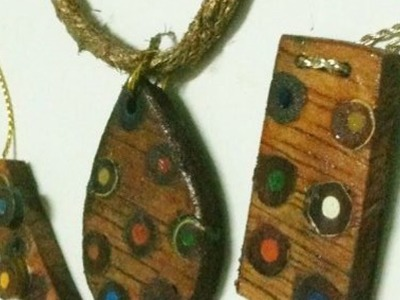 Create Cool Colored Pencil Jewelry - DIY Style - Guidecentral